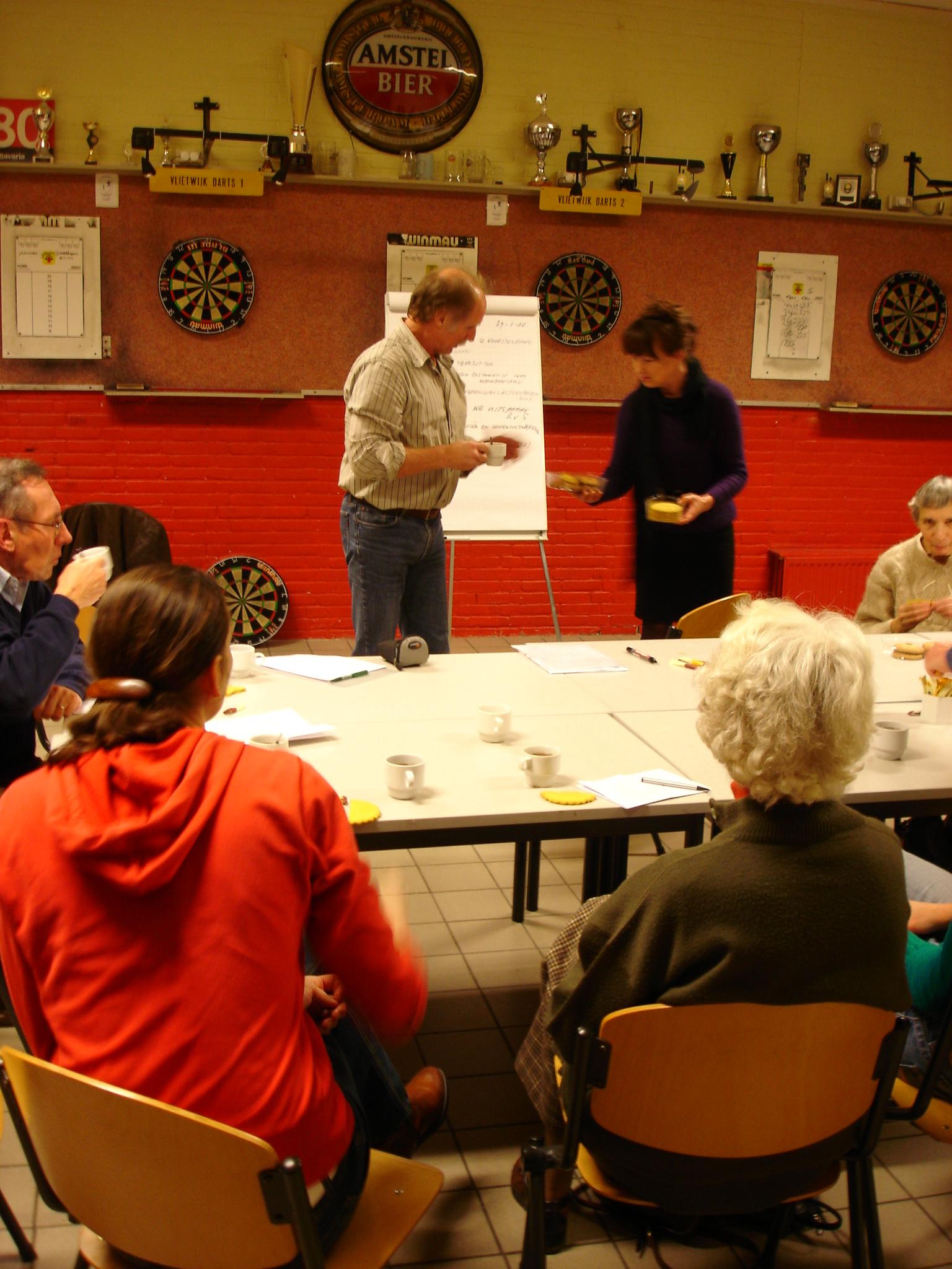 Ledenvergadering 29 januari 2008
